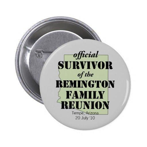 Official Family Reunion Survivor - Arizona Green Pins