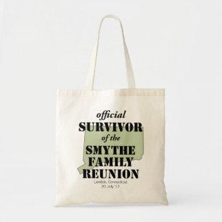 Official Family Reunion Survivor - Connecticut Tote Bag
