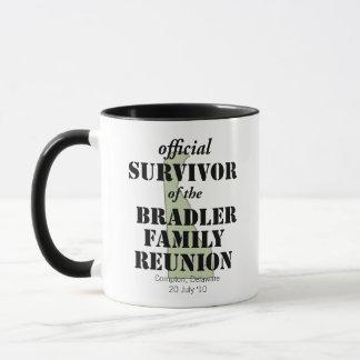 Official Family Reunion Survivor - Delaware Green Mug