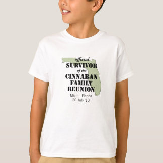 Official Family Reunion Survivor - Florida Green T-Shirt
