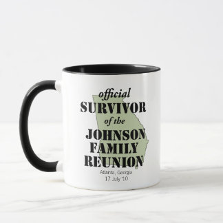 Official Family Reunion Survivor - Georgia Green Mug