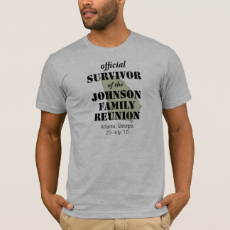 Official Family Reunion Survivor - Georgia Green T-Shirt