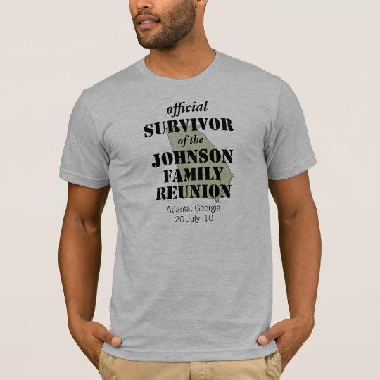 Official Family Reunion Survivor - Georgia Green T-Shirt