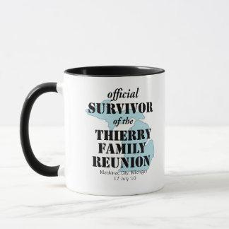 Official Family Reunion Survivor - Michigan Blue Mug