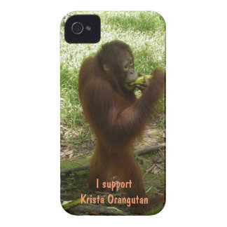 Official Fan Club Krista Orangutan Case-Mate iPhone 4 Case