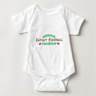 Official Fantasy Football Champion Baby Bodysuit