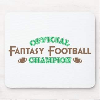 Official Fantasy Football Champion Mouse Pad