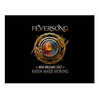Official Feversong 2017 Postcard