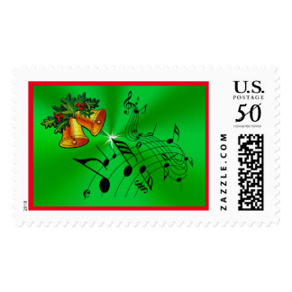 Official First Class Christmas Music Stamps