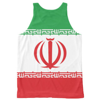 Official Flag of the Islamic Republic of Iran All-Over-Print Tank Top