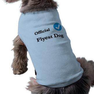official flyest dog shirt