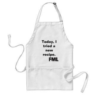 Official FML Apron: New recipe Adult Apron