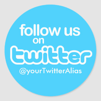 "Official ""Follow Us on Twitter"" Sticker"