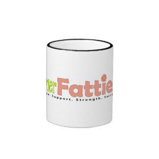 Official Former Fatties Logo Merch Ringer Coffee Mug