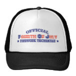 Official Fourth / 4th Of July Firework Technician Mesh Hats