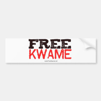 Official Free Kwame Sticker