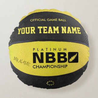 OFFICIAL GAME PILLOW Yellow-Black