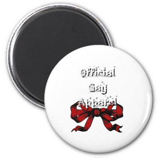 Official Gay Apparel 2 Inch Round Magnet