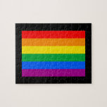 OFFICIAL GAY PRIDE FLAG JIGSAW PUZZLES