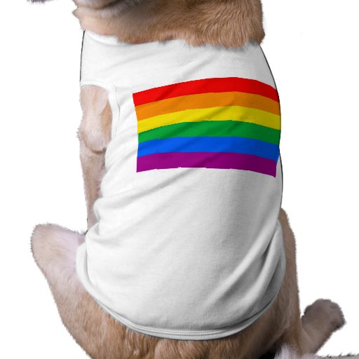OFFICIAL GAY PRIDE FLAG PET CLOTHING