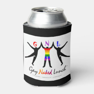 Official GayNakedLunch (GNL) Custom Drink Sleeve Can Cooler