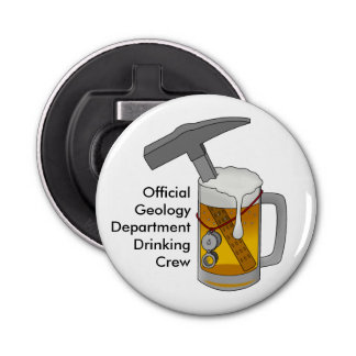 Official Geology Department Drinking Crew Bottle Opener