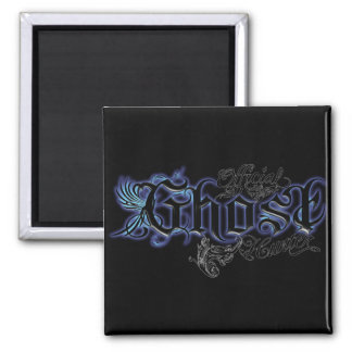 Official Ghost Hunter 2 Inch Square Magnet