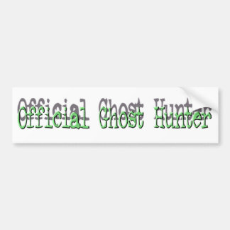 Official Ghost Hunter Bumper Sticker