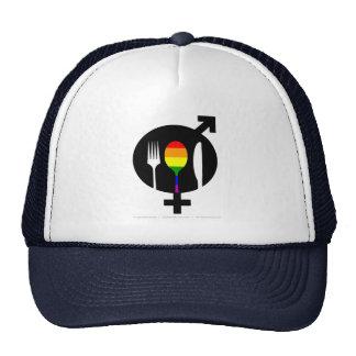 Official GNL Super Logo Gay Trucker Hat