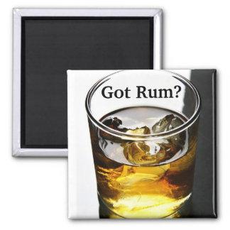 "Official ""Got Rum?"" On The Rocks Magnet"