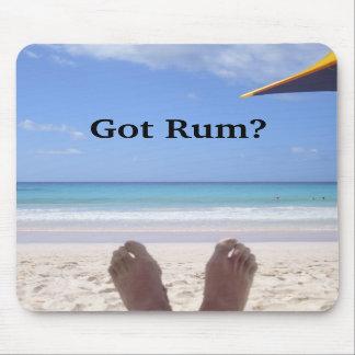 "Official ""Got Rum?"" Tropical Mousepad"