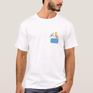 Official Graphics Gods t shirt- White T-Shirt