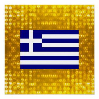 Official Greek Flag Poster
