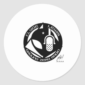 Official Ground Zero Products! Classic Round Sticker