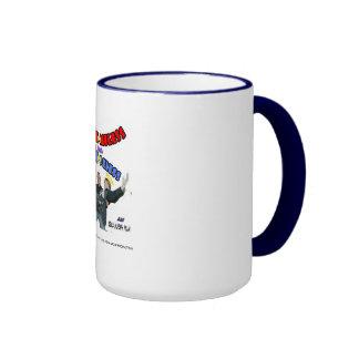 Official H n H Cover Coffee Mug(Navy Blue Rim)