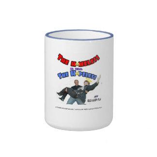 Official H n H Cover Coffee Mug(PowderBlu Rim)