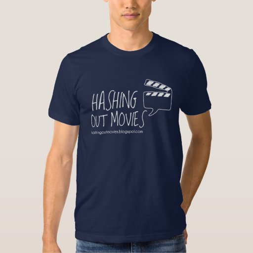 Official Hashing Out Movies T-shirt Dark