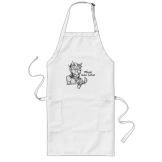 Official Hater Artist Long Apron