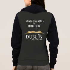 Official High Voltage/dublin 2018 Hoodie Zip Front at Zazzle