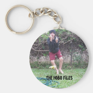 OFFICIAL HOBO FILES KEYCHAIN