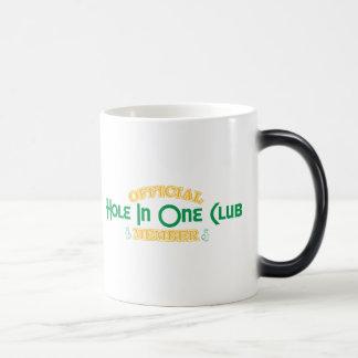 Official Hole In One Club Member Magic Mug