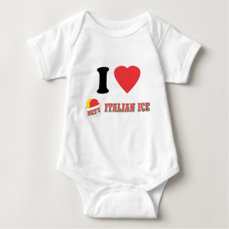 "Official ""I LOVE MIKE'S ITALIAN ICE"" Brand Baby Bodysuit"