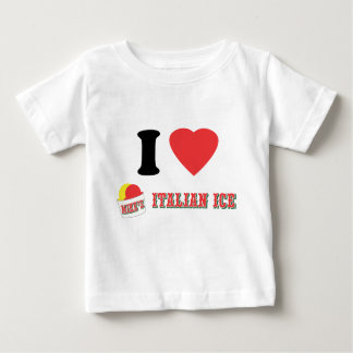 """Official """"I LOVE MIKE'S ITALIAN ICE"""" Brand Baby T-Shirt"""