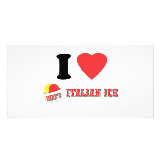"Official ""I LOVE MIKE'S ITALIAN ICE"" Brand Card"