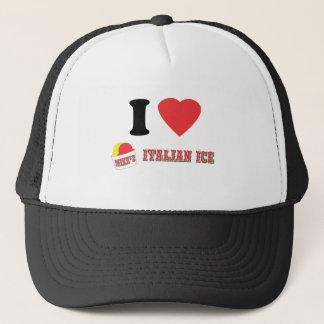 "Official ""I LOVE MIKE'S ITALIAN ICE"" Brand Trucker Hat"