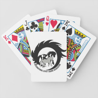 Official IGEA Logo on items Bicycle Playing Cards