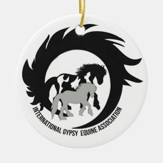 Official IGEA Logo on items Ceramic Ornament
