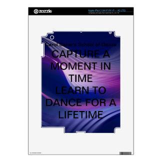 Official IPad 3 Carol Baker's School of Dance Skin iPad 3 Decal