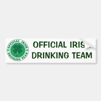Official-Iris-Drinking-Team Bumper Sticker