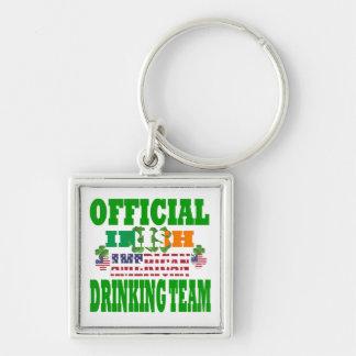 Official Irish American drinking team Key Chain